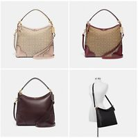 Coach Ivie Hobo Leather Crossbody Shoulder Bag F34824 F35846