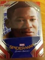 2017 UD Spider-Man Homecoming #39 Abraham on the Bus SILVER FOIL
