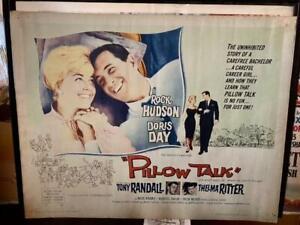 Pillow Talk Original Half Sheet Movie Poster