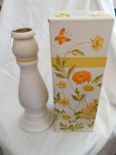 1970's Avon Buttercup Candlestick Moonwind Cologne with box