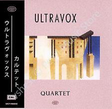ULTRAVOX QUARTET CD MINI LP OBI Tiger Lily Midge Ure Billy Currie album new