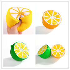 Simulation Fruit Lemon PU Slowing Up Squishy Squeeze Stress Reliever Fun Toy