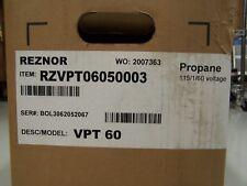 Reznor VPT-60 LP gas 2-Stage tubular infrared heater burner 60,000 BTU