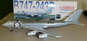 Dragon Wings 1:400  Alitalia Airlines  Bvlgari  747-200 -  55088