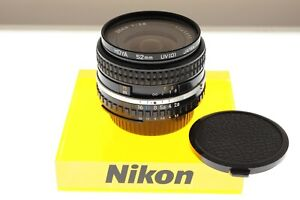 Nikon Series E 28mm f/2.8 Ai-s wide angle lens. EXC++ condition. +filter