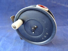 VINTAGE DINGLEY MADE TROUT FLY REEL FOR W ROBERTSON RARE RED AGATE LINE GUARD