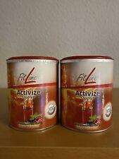 2x FitLine/Activize/Oxyplus/Geschmackrichtung Cassis, Dose -175 g.