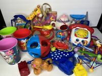 Fun Toy Junk Drawer Lot - 33 Pieces Assorted Toy Items