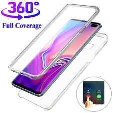 For Samsung Galaxy Note 10 S10 S20 Plus 5G Full Body Clear Slim Rubber Soft Case