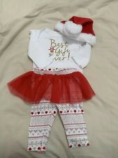baby girl christmas outfit  6 Months