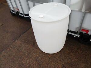 Ex food Cider Beer Barrel Drum Containers Screw Top Twin Bung Drum 220 160 Litre