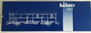 HÜBNER 20131 Gauge 1 Freight Car Workshop Conversion From Pwi-23 New For Märklin