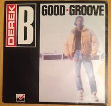 "DEREK B - Good Groove - 1988 - 7"" Vinyl Single"