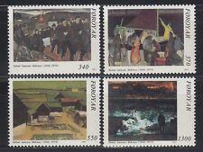 Färöer 1991 ** Mi.223/26 Gemälde Paintings | Sámal Joensen-Mikines