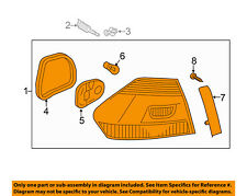 VW VOLKSWAGEN OEM 12-15 Passat-Taillight Tail Light Lamp Assy Right 561945096H