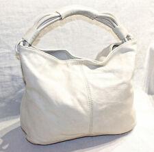 RRP$395 OROTON Cream Pebbled Leather Shoulder Bag/Handbag/Alpine Small Hobo
