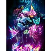 5D DIY Full Drill Diamond Painting Skeleton Embroidery Cross Stitch Kits DIY