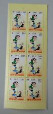 France Carnet journée du timbre année 2001 BC3370a neuf luxe ** Gaston lagaffe