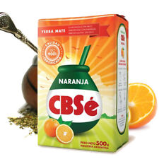 Orange NARANJA CBSe Yerba Mate  Loose Tea Weight Loss Energy Booster 500g
