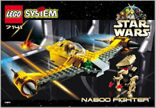 Lego #7141 Star Wars Episode I Naboo Fighter Complete (Used, No Box)