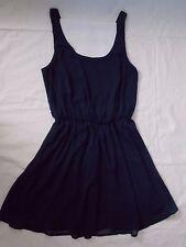 Xhilaration Navy Blue Dress, womens size Small, sleeveless, lined