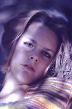 Vintage 35mm Color Slide Photo Young Woman Model Hippy 1970s G12