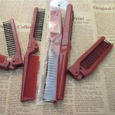 Salon Brush Hair Comb Antistatic Hairbrush Portable Tools Folding Combs