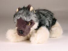 Caspian Sea Wolf Cub by Piutre, Hand Made in Italy, Plush Stuffed Animal Nwt