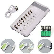 Intelligent Battery Charger For AA AAA NI-MH NI-CD 8 Slot Rechargeable Batteries