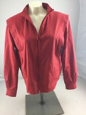 VTG Members Only By Europe Craft Full Zip Red Classic casual Jacket Size 11/12
