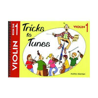 Tricks To Tunes Book 1 Violin. Sheet Music Book Learn How To Play Easy Beginner