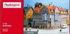 AUHAGEN HO scale ~ CORNER TOWN HOUSE ~ plastic model kitset #12249