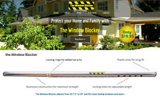 The Window Blocker Home Security Adjustable Window and Sliding door Blocker.
