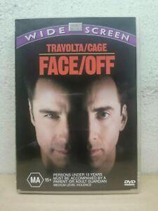 Face Off (DVD, 2001) Nicolas Cage John Travolta Action Region 4