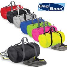 BAGBASE BARREL BAG GYM TRAVEL SPORT ULTRA LIGTHWEIGHT FOLDABLE STRONG COLOURS
