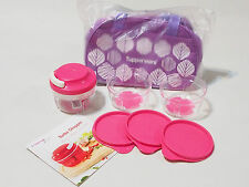 New Tupperware Pink Turbo Chopper Set (1) 300ml + Free Carrier & Recipe Booklet