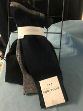 be395a917d PERRY ELLIS PORTFOLIO Men s 3 Pair DRESS SOCKS ~ Shoe Size 7-12 ~Navy