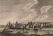 HALLING HOUSE, Kent. GROSE 1776 old antique vintage print picture