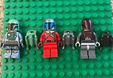 Lego Star Wars Mandalorian & Boba Fett Minifigures MINT CONDITION RARE !!!!