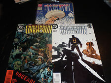 DC Comics Challengers of the Unknown Lot 3 Issues   1991-97