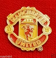 Manchester United FC OFFICIAL Badge Selection Pin Badge Gift