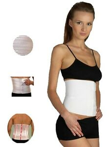 NEW Post Pregnancy Abdominal FIRM Support Waist Belt Girdle Medical CE Approved