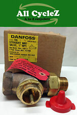 "Danfoss RA Straight Way Valve 1"" NPT for L.P Steam and H.W. hot water Valve Body"