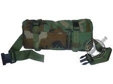 MOLLE II Waist Butt Pack Genuine USGI BDU Woodland Camo ATV UTV Gear Hunting Bag