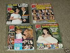 4 Pc. Celine Dion  7 Jours Magazine Her Son Boy #3