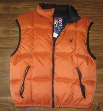 Spyder Tommy Moe Mens Sleeveless Winter Jacket, Vest, Goose Down, Size S, EUC