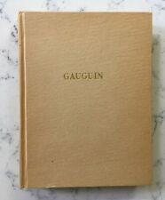 FRENCH ART BOOK PAUL GAUGIN PAR RAYMOND COGNIAT EDITIONS PIERRE TISNE PARIS