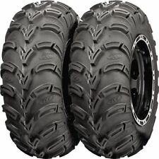 PAIR ( 2 )  25X8-12  AMERICAN MADE ITP MUD LITE ATV TIRES NEW - MADE IN USA