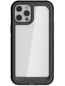 Clear iPhone 12 / mini / Pro / Pro Max Case Ghostek Atomic Slim Aluminum Bumper