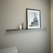50IN Stainless Steel Floating Ledge for Photos and Pictures, Wall Shelf